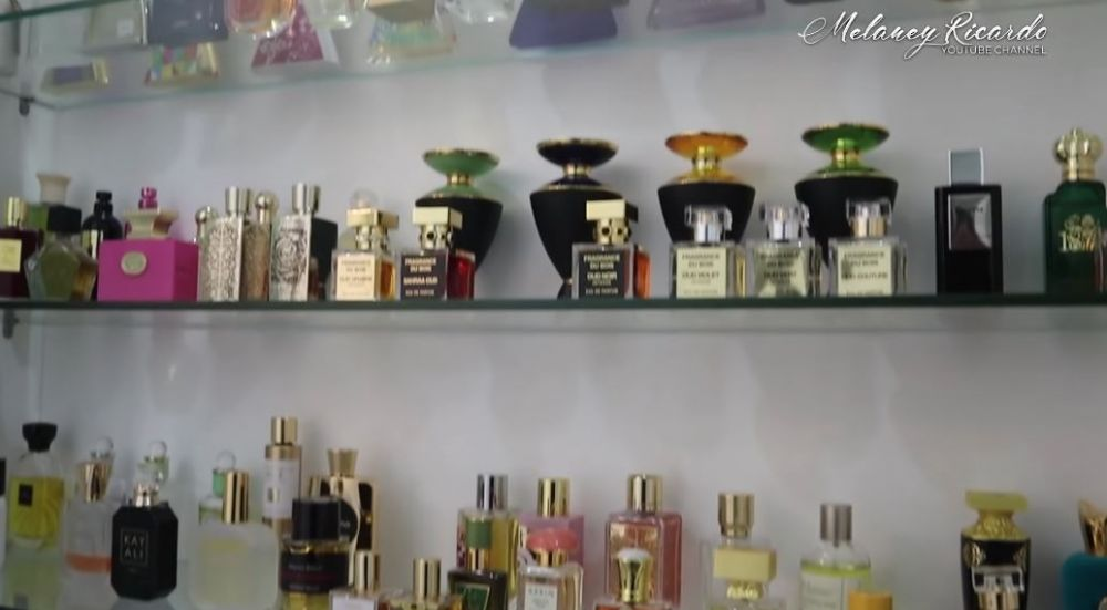 ruang khusus parfum Ussy © YouTube