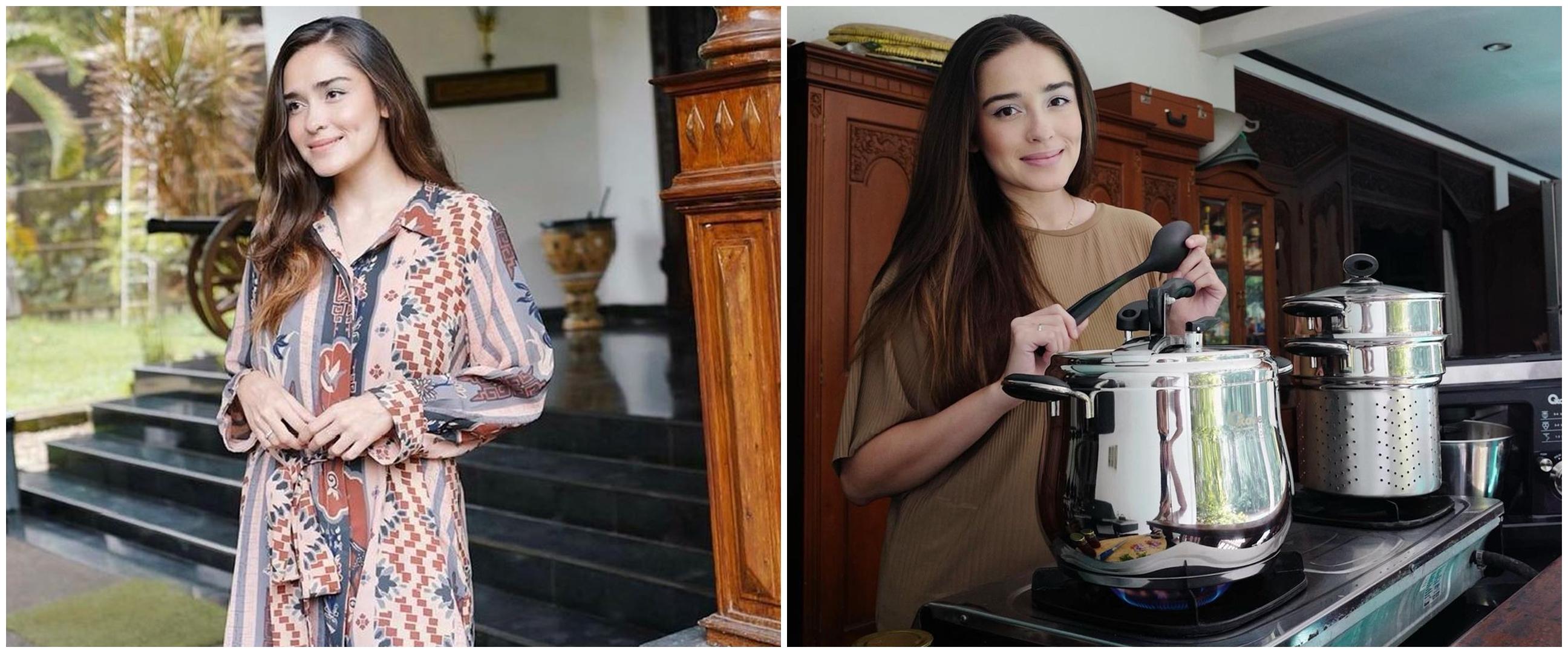 10 Penampakan rumah Yasmine Wildblood & Abi Yapto, bergaya klasik Jawa