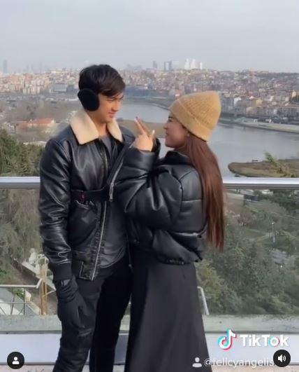 honeymoon felicya dan hito © Instagram