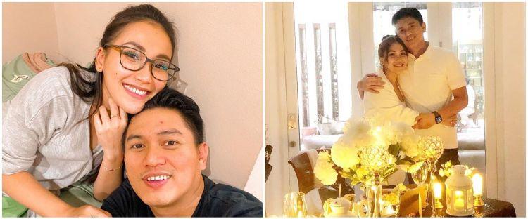 5 Momen Ayu Ting Ting beri kejutan ultah Adit Jayusman, romantis
