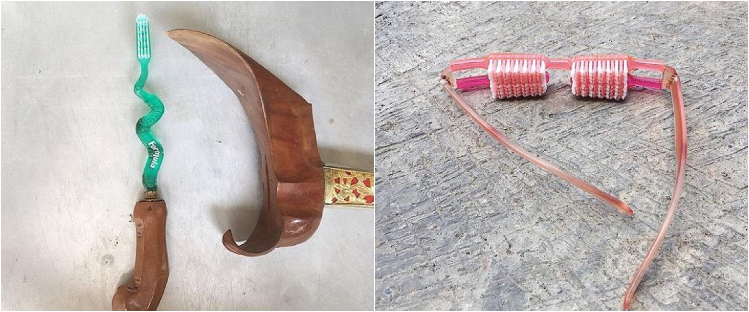 9 Potret lucu sikat gigi ini malah bikin mikir dua kali