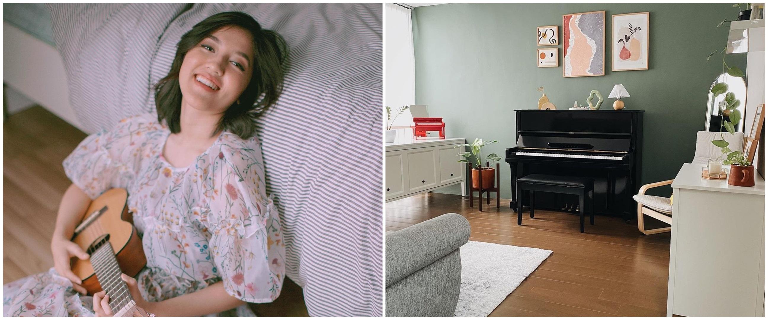 8 Penampakan ruang musik Ify Alyssa usai didekorasi ulang, estetik pol