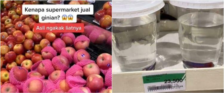 Viral supermarket jual ikan cupang, komentar warganet bikin ngakak