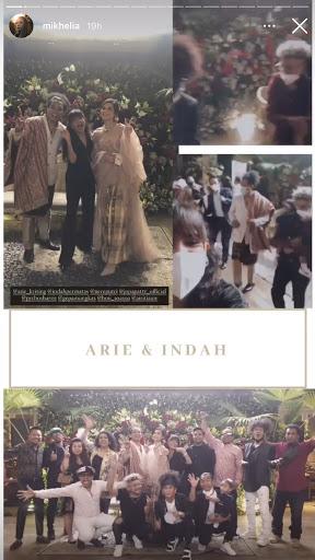 seleb di pernikahan Arie Kriting © 2021 brilio.net