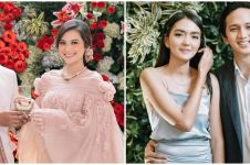 Gaya 10 seleb di pernikahan Arie Kriting dan Indah Permatasari