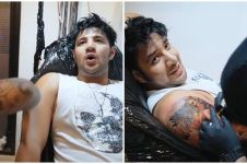 Potret 6 seleb pakai tato 'palsu', Ammar Zoni bak sungguhan