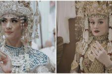 Pesona 8 pesinetron pakai baju adat Palembang, terbaru Dinda Hauw
