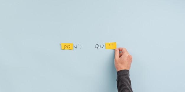 Kata-kata motivasi menguatkan diri sendiri © freepik.com