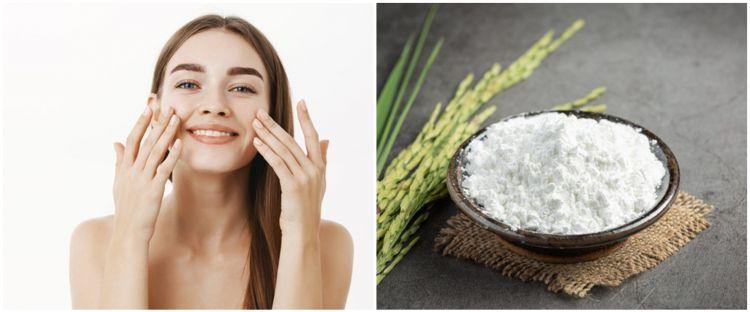 Cara membuat masker wajah dari tepung beras dan kopi, memutihkan kulit