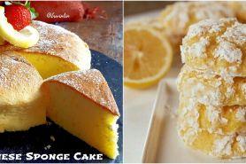 10 Resep kue lemon, segar, enak, sehat dan mudah dibuat