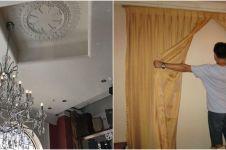 10 Penampakan tak biasa dekorasi rumah ini bikin geleng geleng