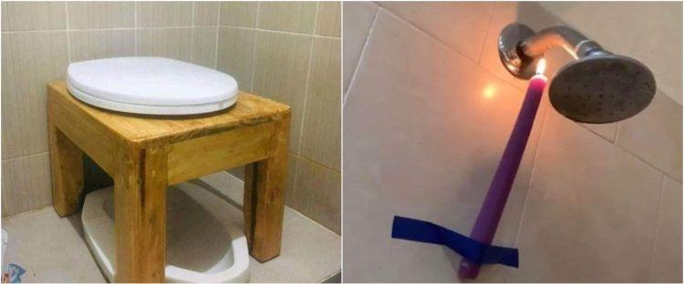 21 Life hack di toilet ini bikin orang gagal paham, absurd abis