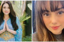 9 Potret terbaru Celine Evangelista dengan rambut poni, tuai pujian