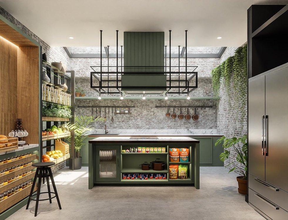 Desain dapur baru Chef Arnold © Instagram