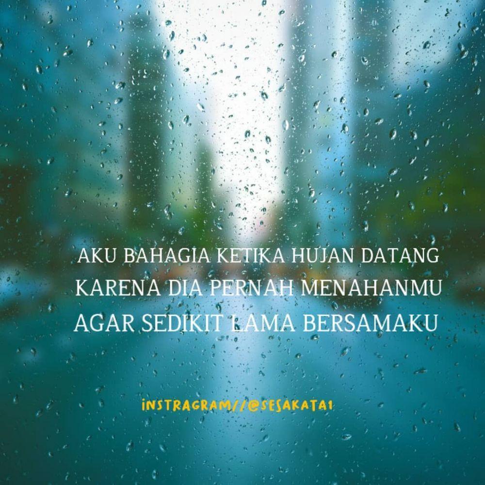 kata bijak hujan © Instagram