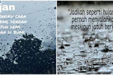 40 Kata-kata bijak hujan yang isinya romantis, lucu, dan penuh makna