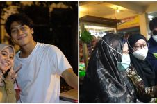 10 Momen Lesty Kejora dan Rizky Billar di pasar, ditantang belanja