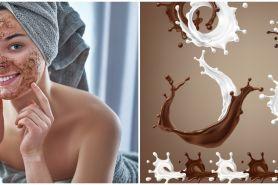 Cara membuat masker kopi campur susu, hilangkan bekas jerawat