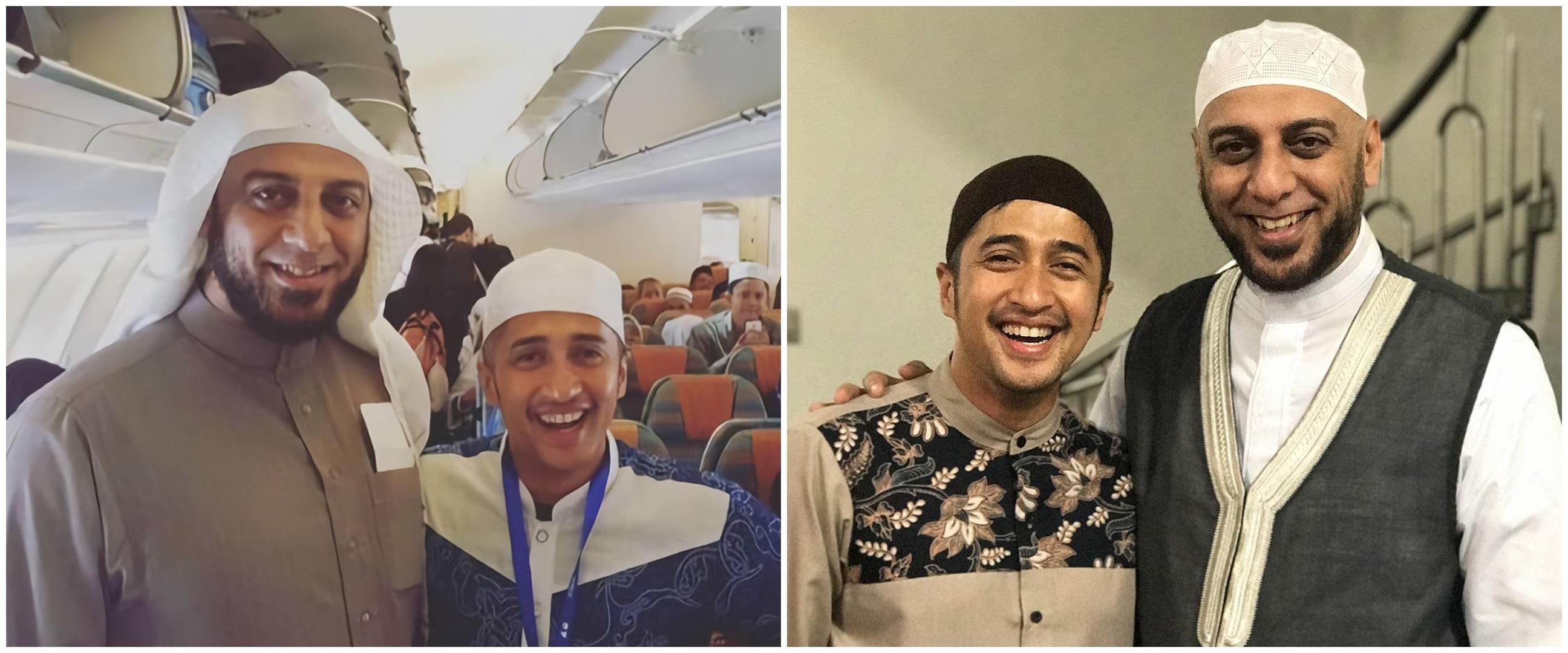 10 Potret kenangan Irfan Hakim dan Syekh Ali Jaber, penuh kesan