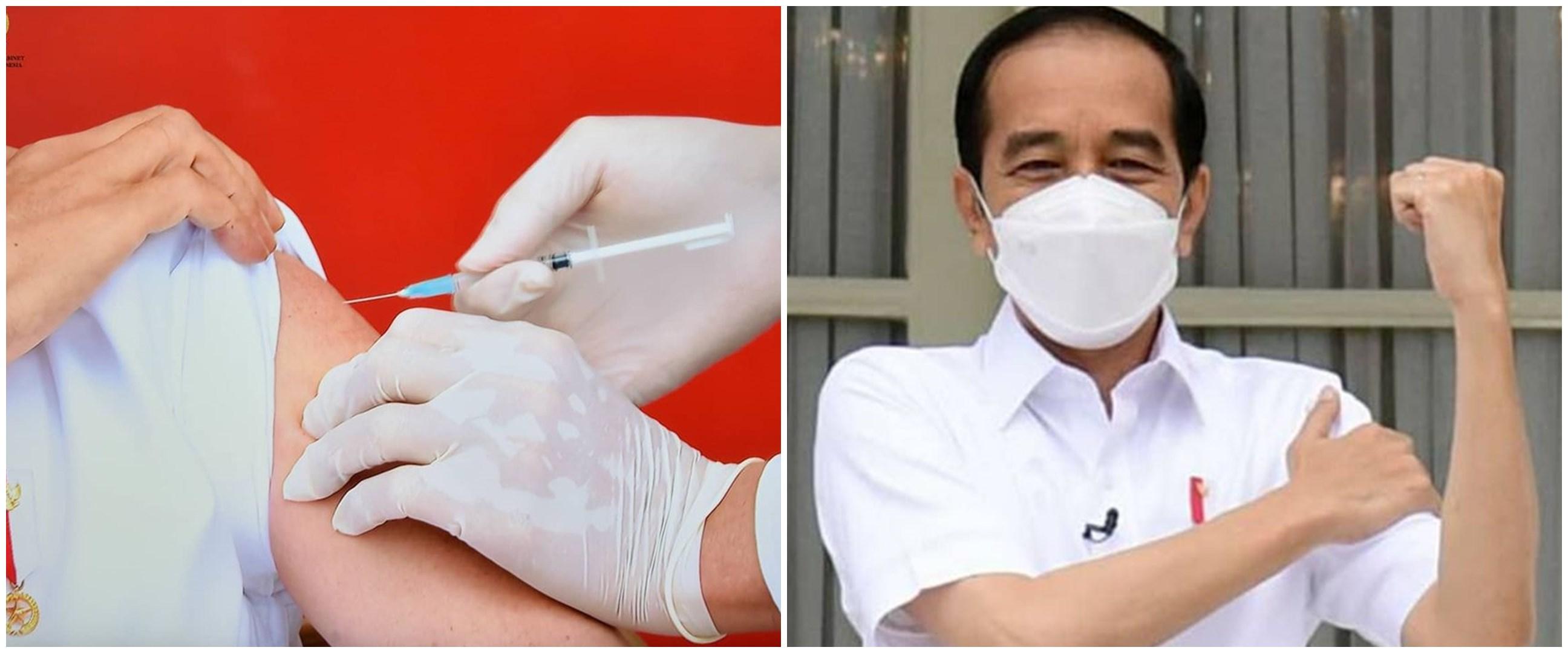 Cerita dokter Abdul Mutalib suntik vaksin ke Presiden Jokowi, gemetar