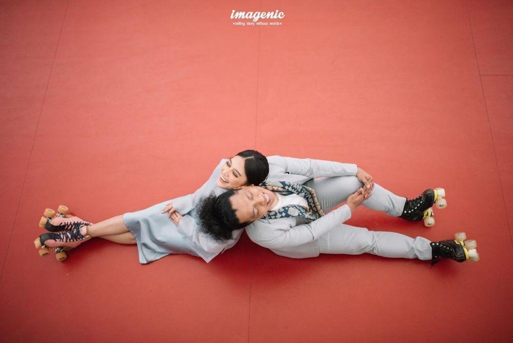 prewedding Arie dan Indah © Instagram