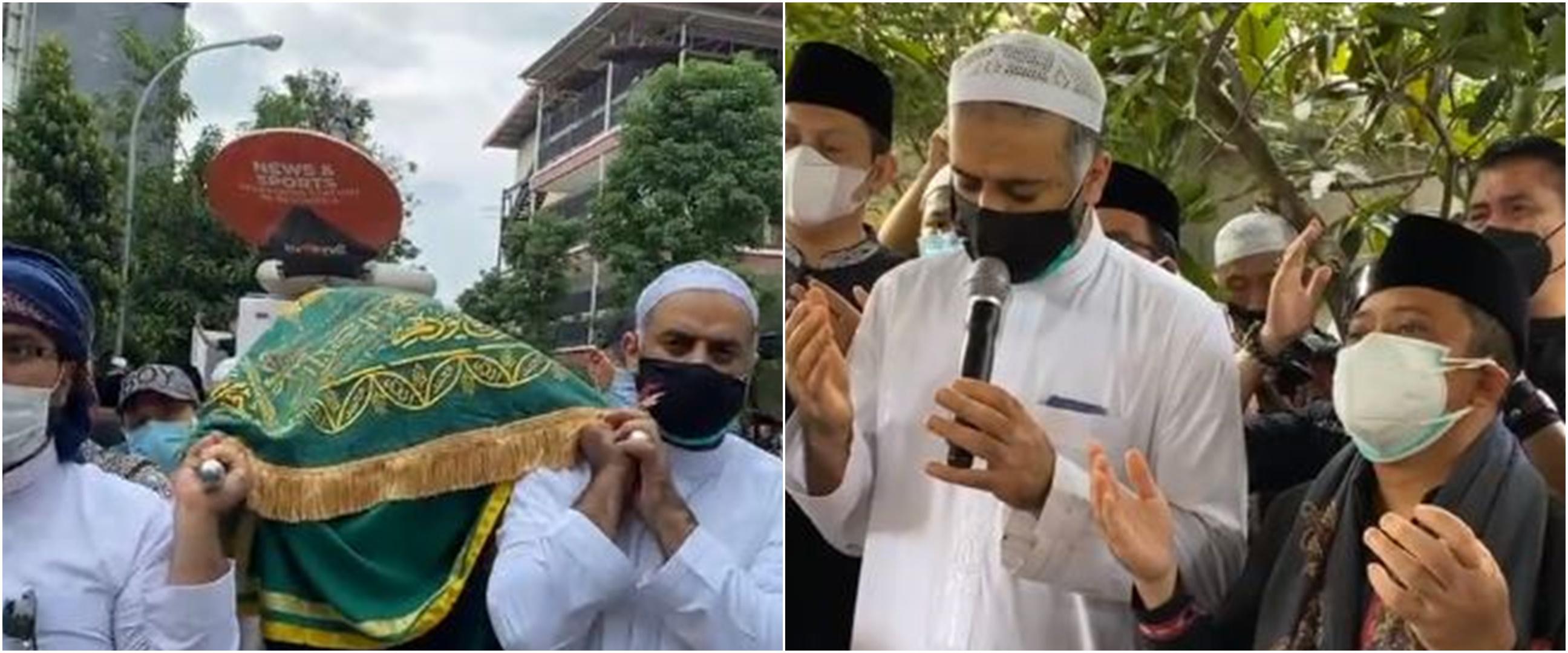 8 Momen pemakaman Syekh Ali Jaber di Pesantren milik Yusuf Mansur