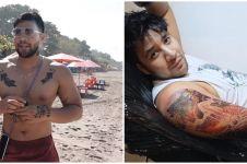 8 Potret terbaru Ammar Zoni dengan tubuh penuh tato, makin sangar