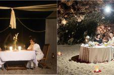 Momen 10 seleb saat dinner romantis, Titi Kamal curi perhatian