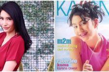 8 Potret Tyas Mirasih jadi model majalah lawas, curi perhatian