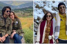 5 Momen bulan madu Shaheer Sheikh dan Ruchikaa Kapoor, romantis