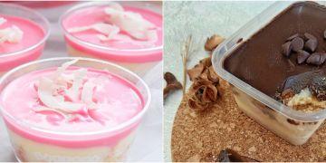10 Resep eclair dessert kekinian, manis, lembut dan mudah dibuat