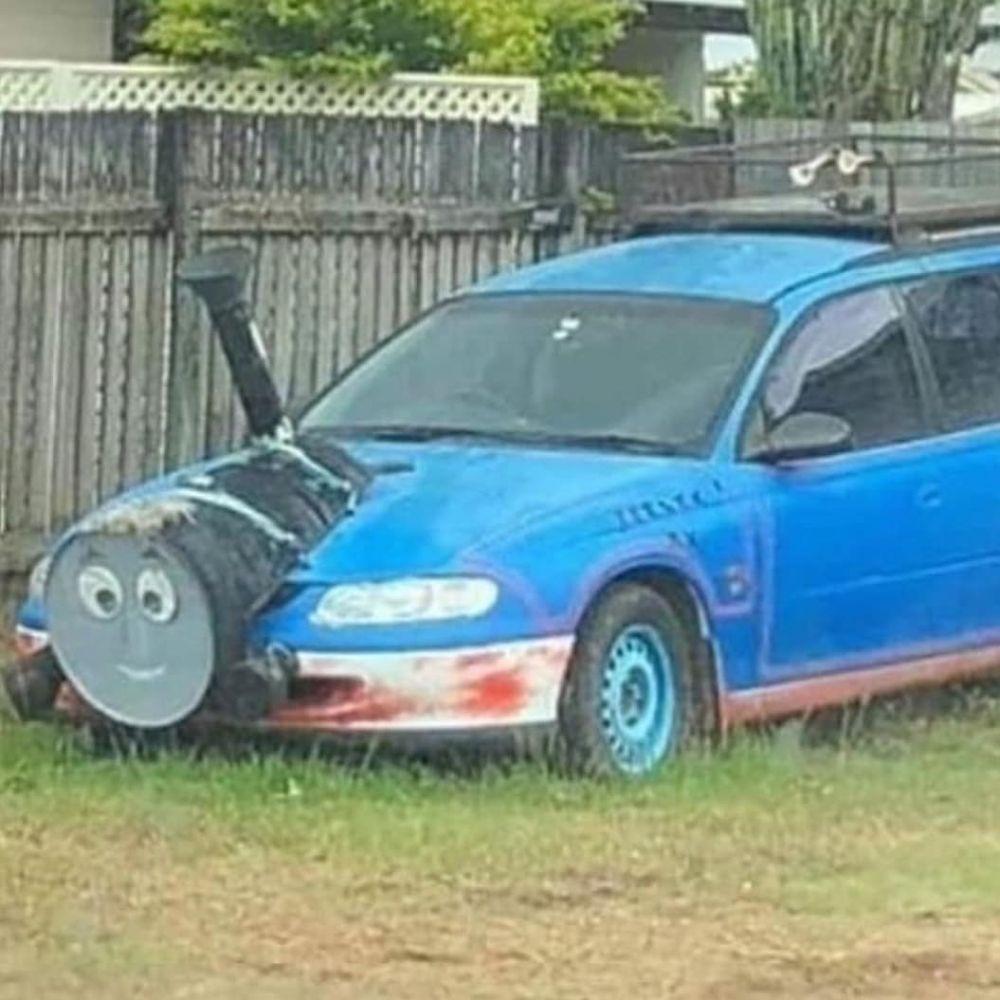 desain mobil bikin geleng kepala © Instagram