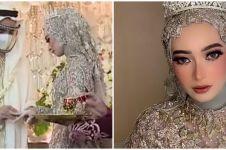 10 Momen akad nikah Reza D'Academy dan Valda Alviana, bernuansa Arab