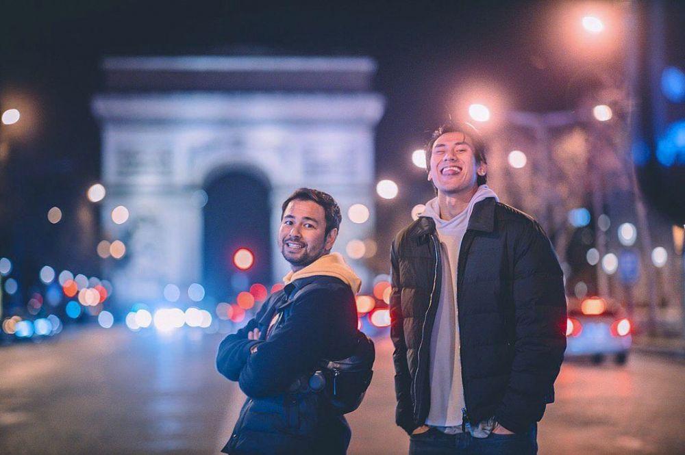 Momen kedekatan Sean Gelael dan Raffi Ahmad Instagram