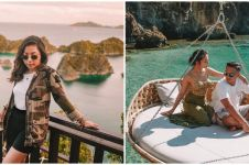10 Momen seru Nikita Willy di Raja Ampat, berenang bareng hiu