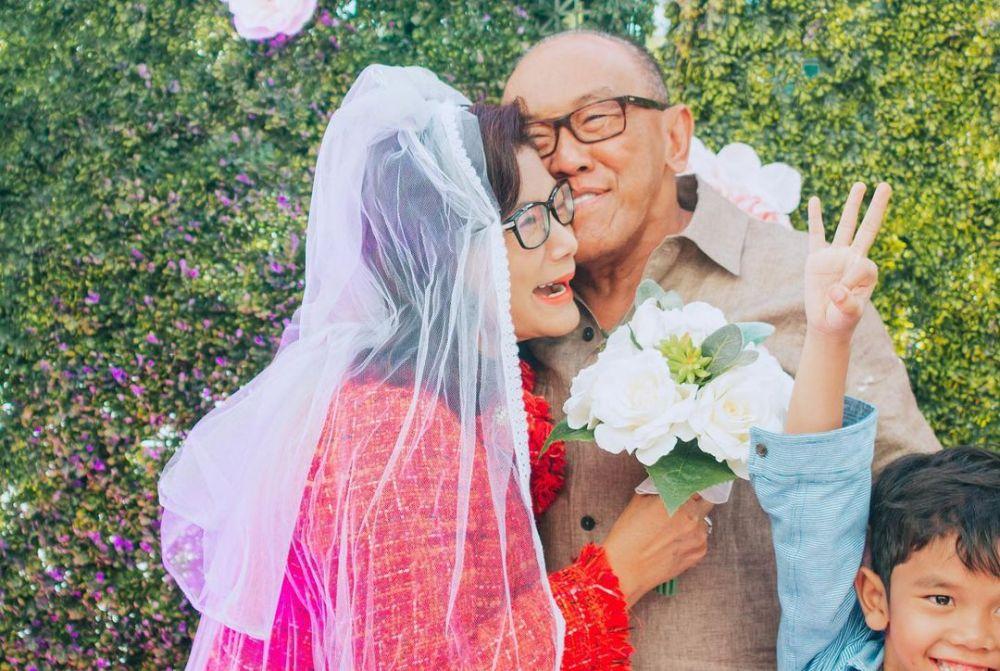 ulang tahun pernikahan aburizal bakrie © Instagram