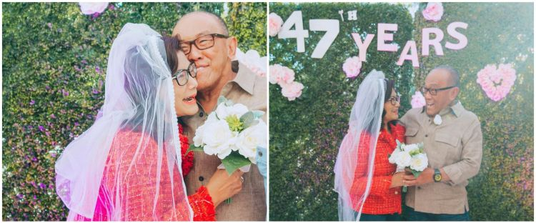 9 Momen ultah pernikahan ke-47 Aburizal Bakrie dan Tatty Murnitriati