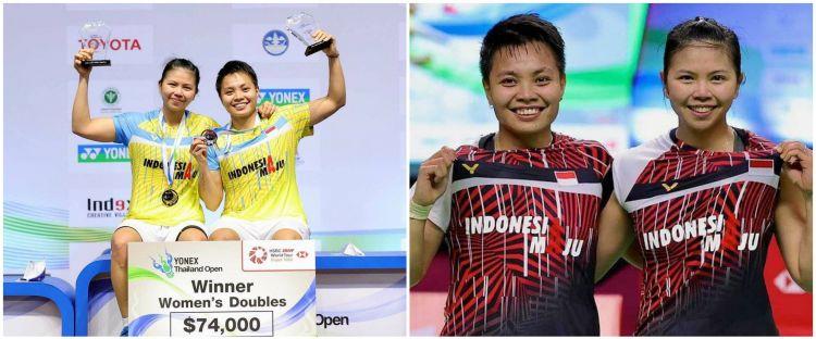 8 Momen kemenangan Greysia Polii dan Apriyani Rahayu di Thailand Open