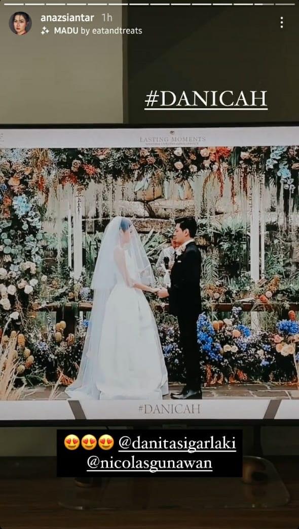 pernikahan Danita eks girlband Princess © berbagai sumber