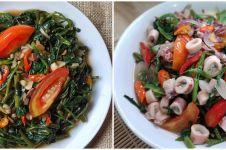 10 Resep kreasi tumis kangkung, sehat dan murah meriah