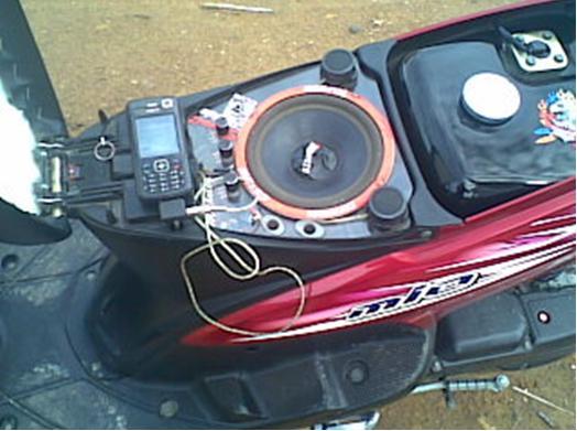 modifikasi motor sound system Berbagai sumber