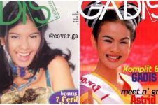 Potret jadul 12 presenter cantik saat jadi model majalah