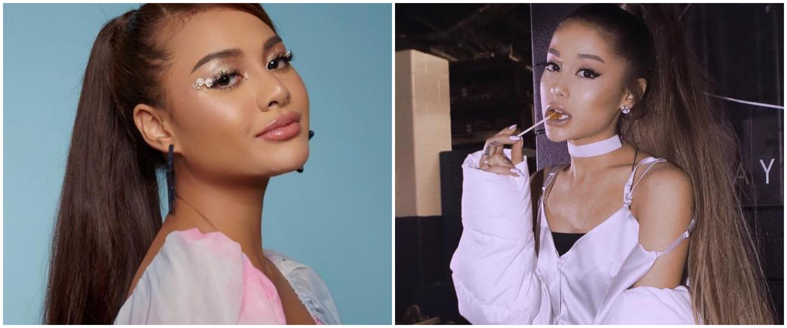 8 Potret Aurel Hermansyah ini disebut mirip Ariana Grande