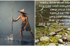 40 Kata-kata bijak kehidupan seperti air mengalir, menyejukkan hati