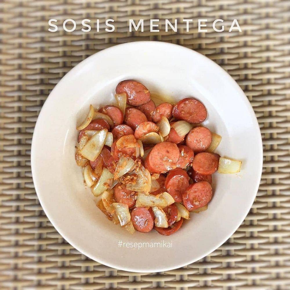 Resep makanan berbahan sosis © Instagram