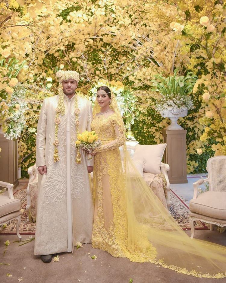pernikahan seleb bernuansa Arab © 2021 brilio.net