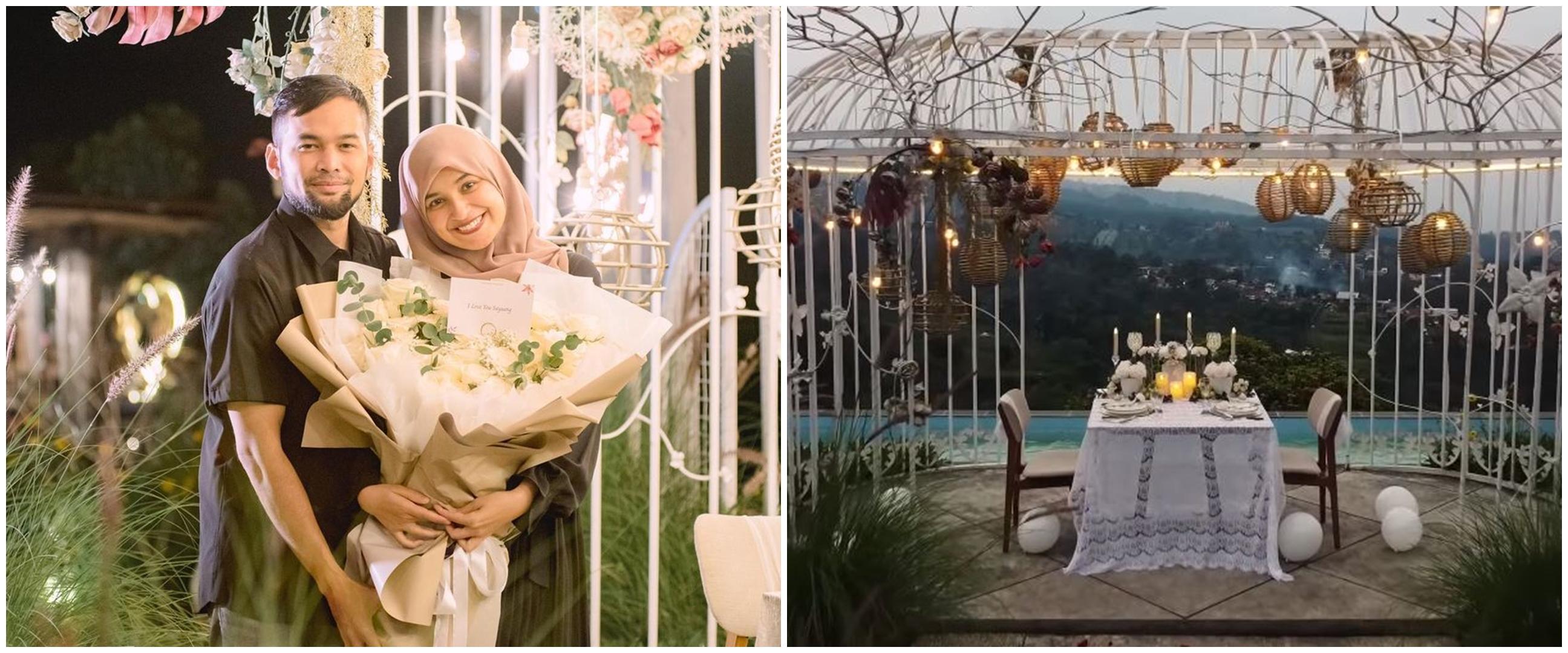 Kenang 7 tahun menikah, ini 10 momen kejutan Teuku Wisnu untuk Shireen