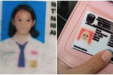 15 Foto pelajar di kartu identitas ini lucunya bikin ketawa kasihan