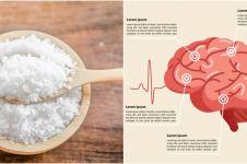 10 Bahaya konsumsi garam berlebihan, dapat menurunkan fungsi otak