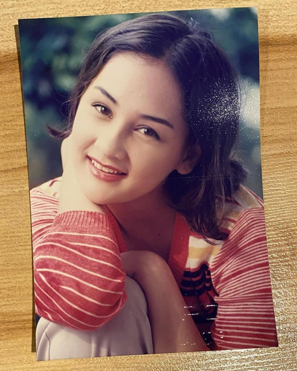 Mona Ratuliu saat remaja © Instagram